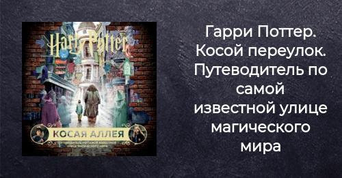 Книга Гарри Поттер Косой переулок Путеводитель по самой ...