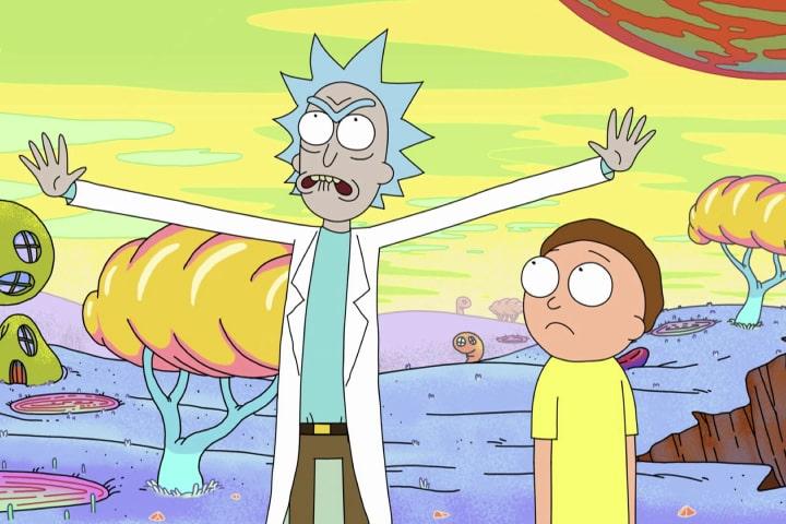 Трейлер пятого сезона «Рика и Морти»