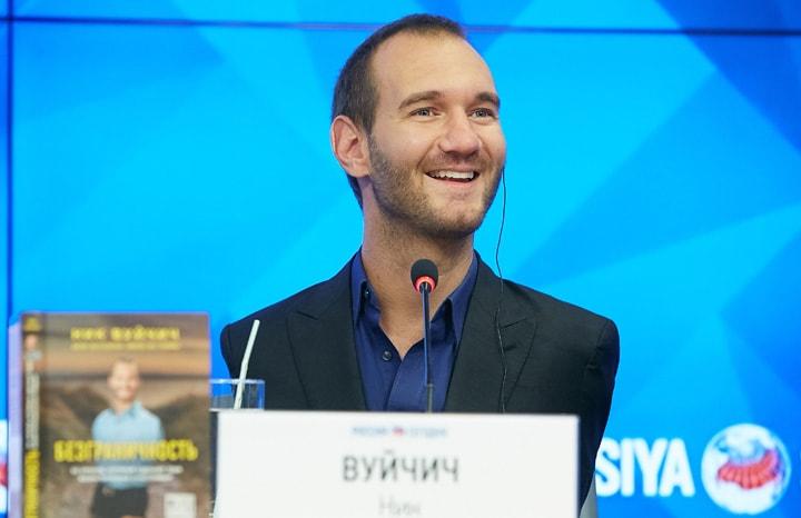 Ник Вуйчич: «Нельзя становиться заложником своей мечты»