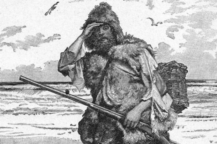 themes from robinson crusoe Themes of robinson crusoe self awareness a major theme of robinson crusoe is his self awareness, which can be seen through examples of his record keeping.